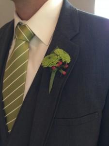 Men's Boutonniere Floral Affair