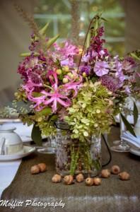 Wedding Centerpiece Floral Affair